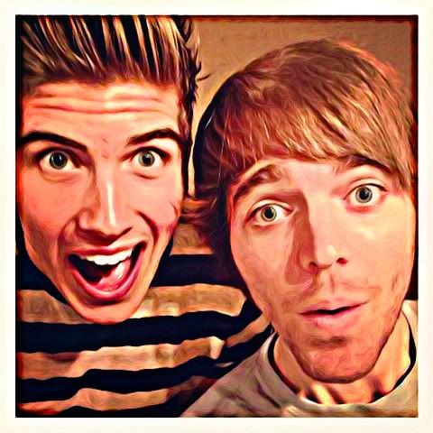Shane dawson and joey graceffa together