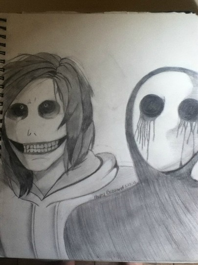 Jeff The Killer And Eyeless Jack Drawing my Drawing of Jeff The Killer