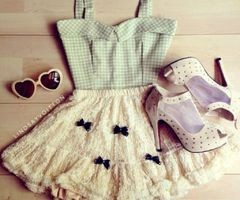 how to put together a cute outfit