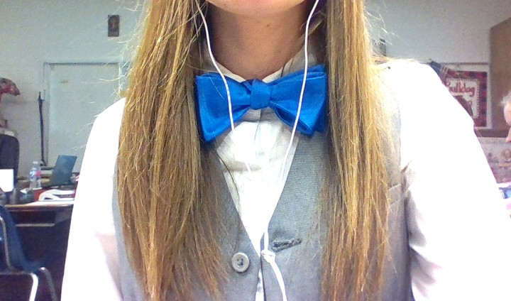 #bowtieSchool project today! This is pre-beard XD